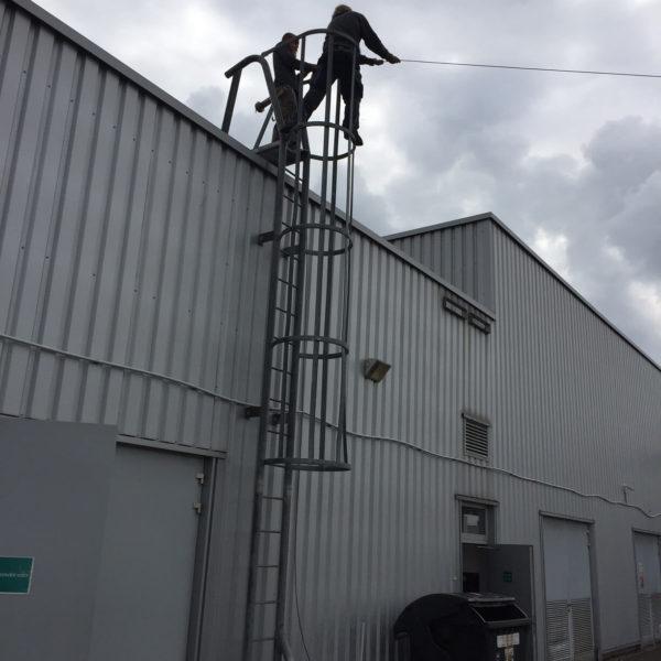 Jtekt - instalace kamerového systému
