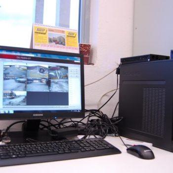BPS Meclov - monitorovací stanice pro CCTV
